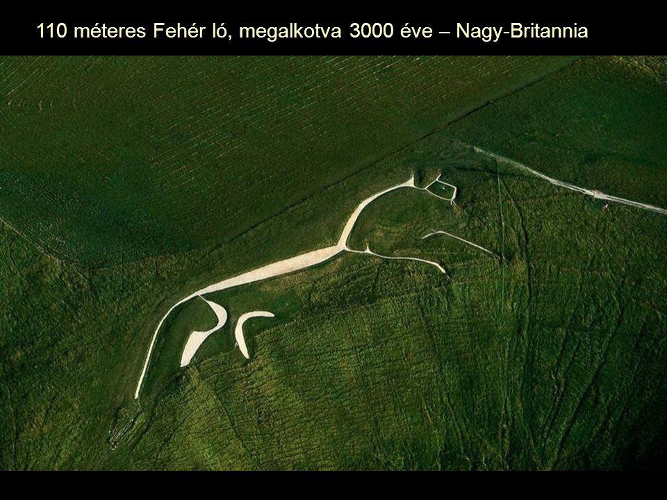 110 méteres Fehér ló, megalkotva 3000 éve – Nagy-Britannia