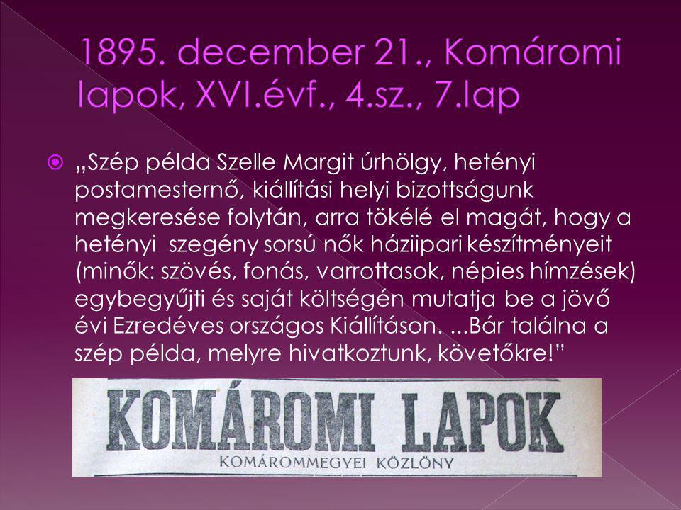 1895. december 21., Komáromi lapok, XVI.évf., 4.sz., 7.lap