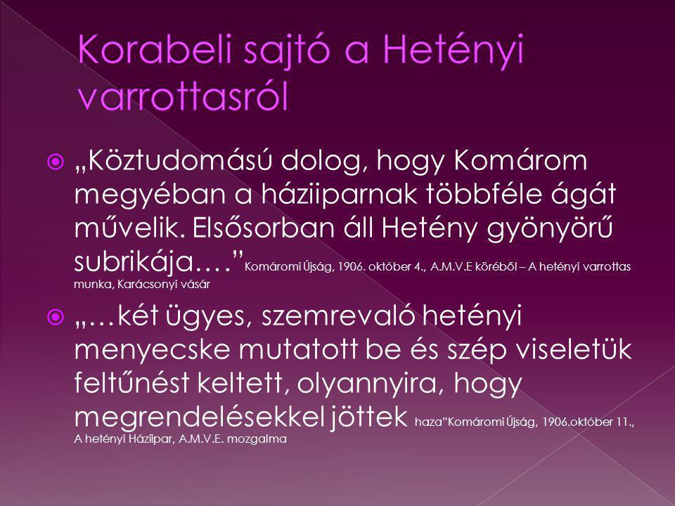 Korabeli sajtó a Hetényi varrottasról