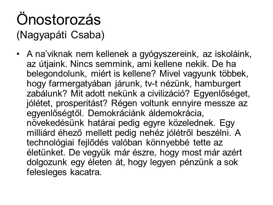 Önostorozás (Nagyapáti Csaba)