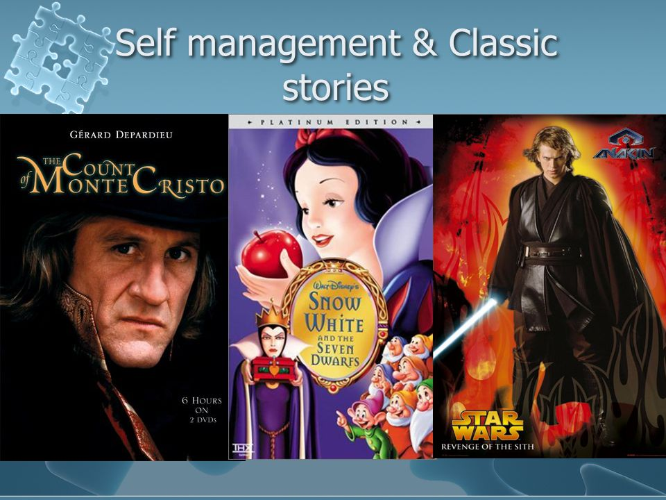 Self management & Classic stories
