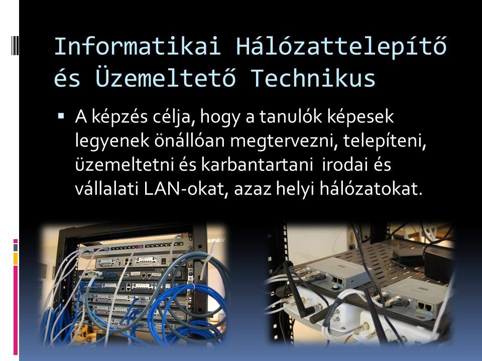Informatikai Hálózattelepítő és Üzemeltető Technikus