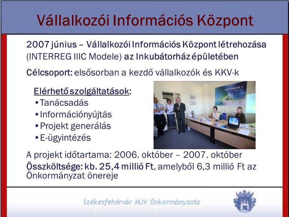 Vállalkozói Információs Központ