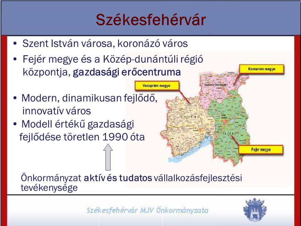 Székesfehérvár Szent István városa, koronázó város