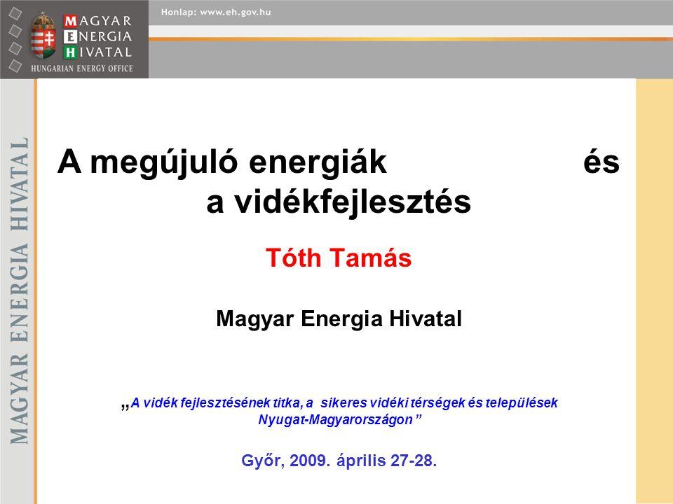 A megújuló energiák és a vidékfejlesztés