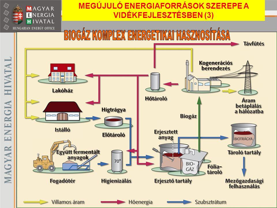 BIOGÁZ KOMPLEX ENERGETIKAI HASZNOSÍTÁSA