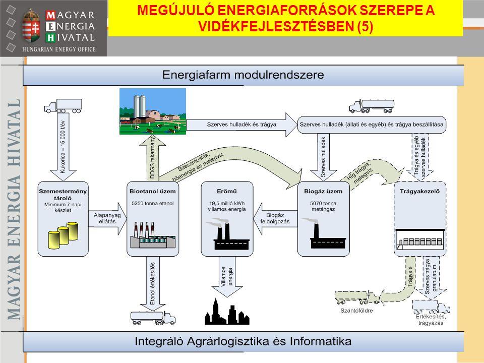 MEGÚJULÓ ENERGIAFORRÁSOK SZEREPE A VIDÉKFEJLESZTÉSBEN (5)