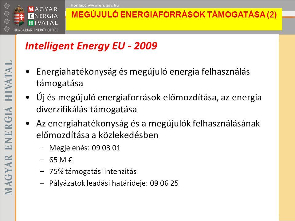 Intelligent Energy EU - 2009