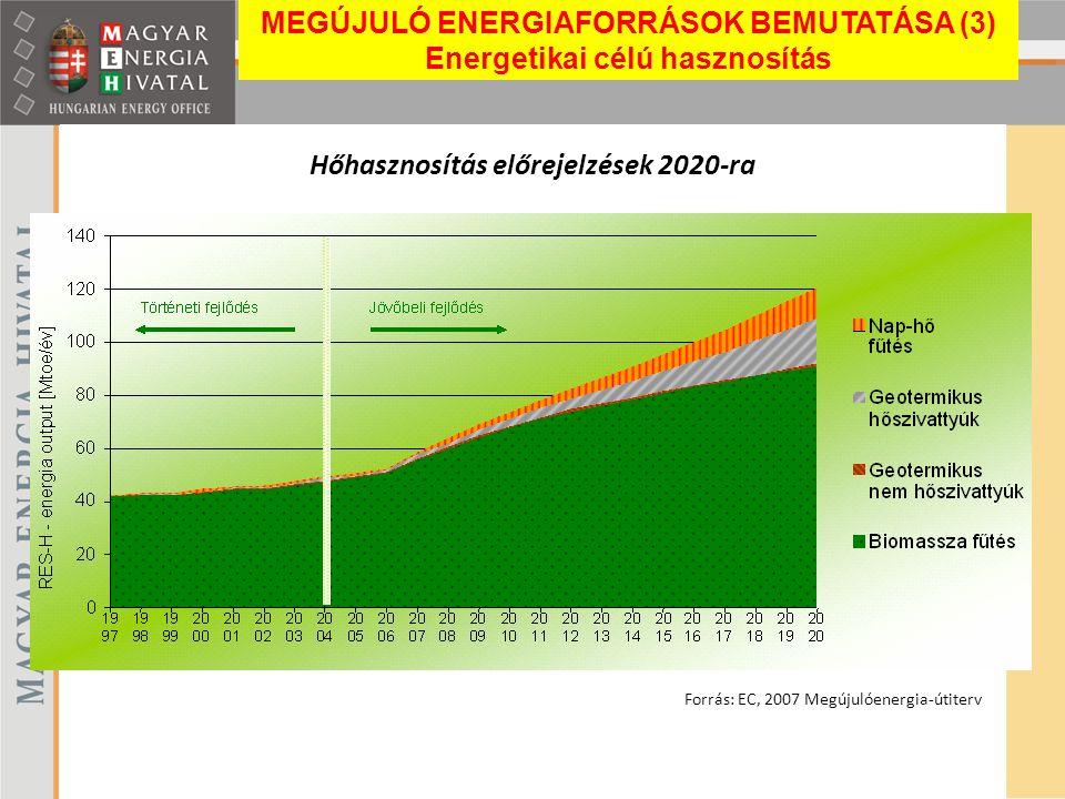 Hőhasznosítás előrejelzések 2020-ra