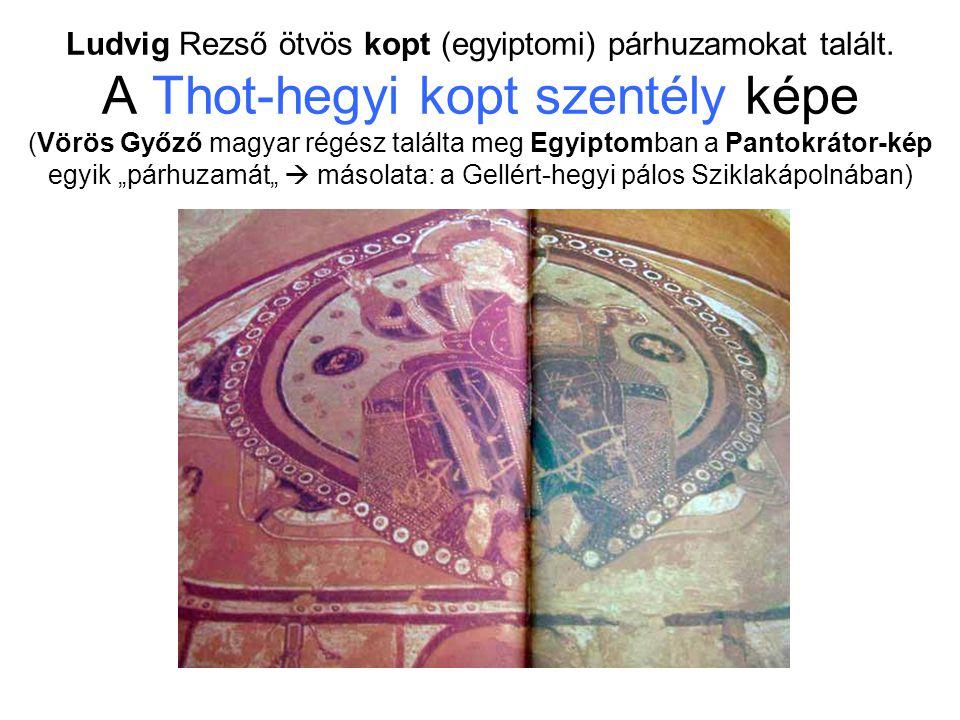 Ludvig Rezső ötvös kopt (egyiptomi) párhuzamokat talált