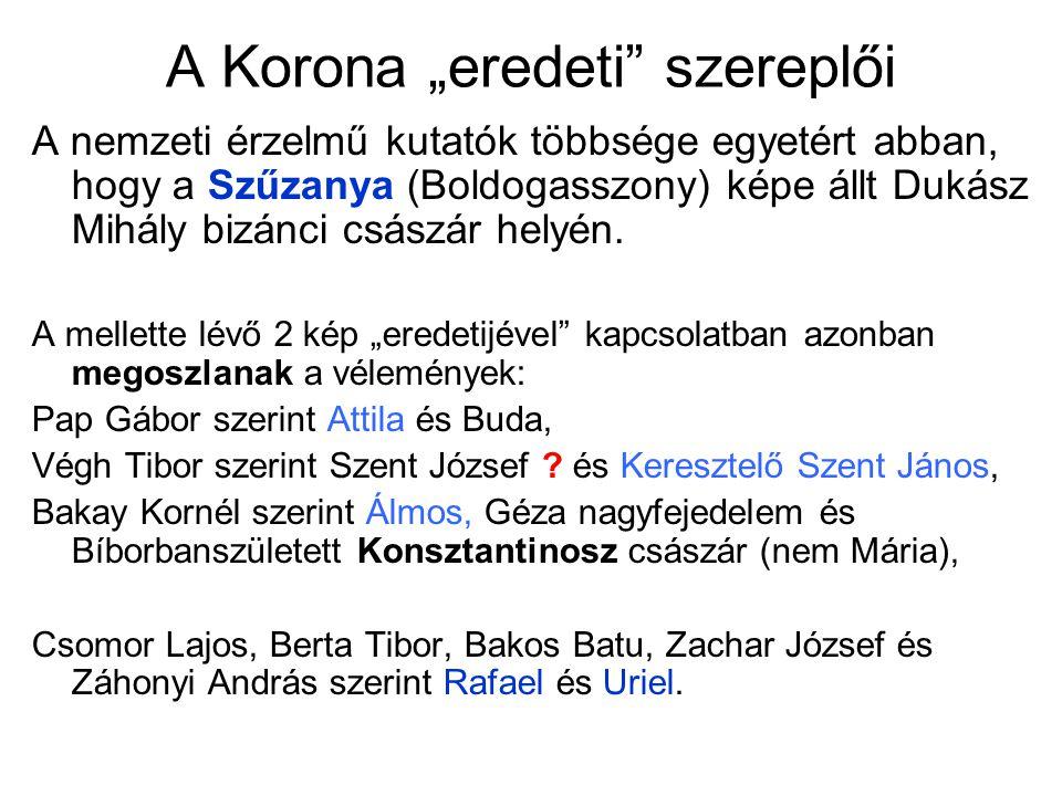 """A Korona """"eredeti szereplői"""