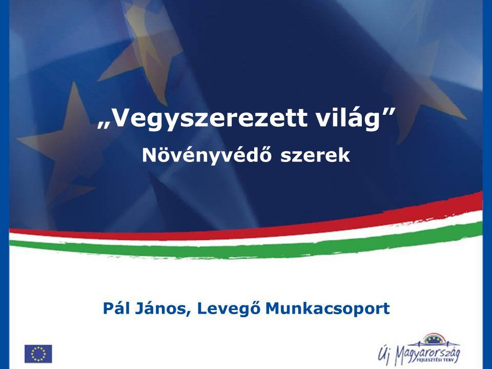 """""""Vegyszerezett világ Pál János, Levegő Munkacsoport"""