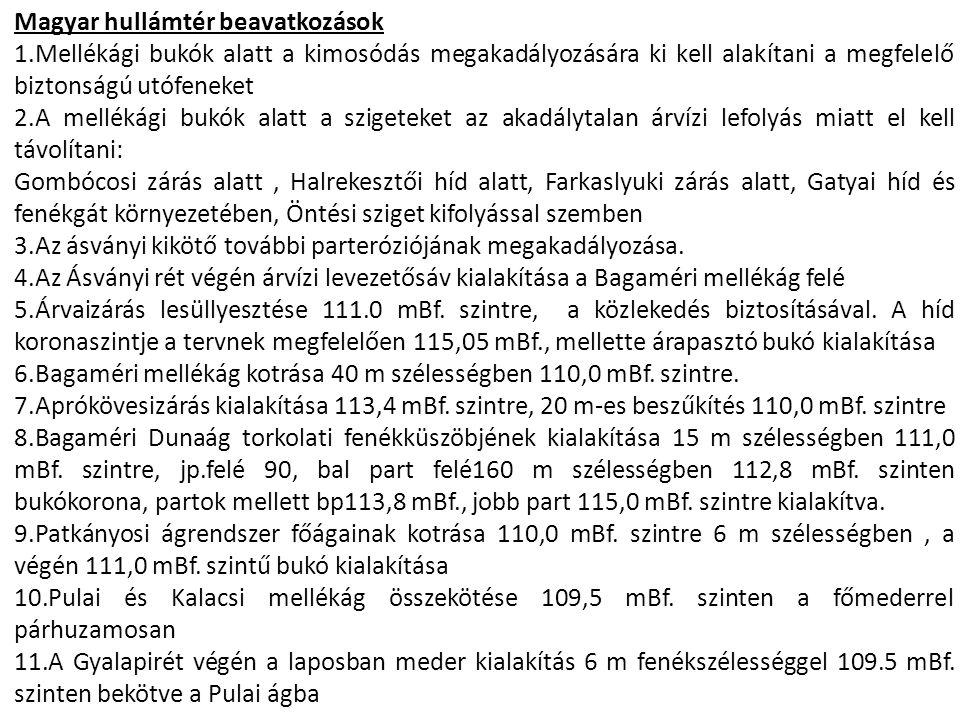 Magyar hullámtér beavatkozások