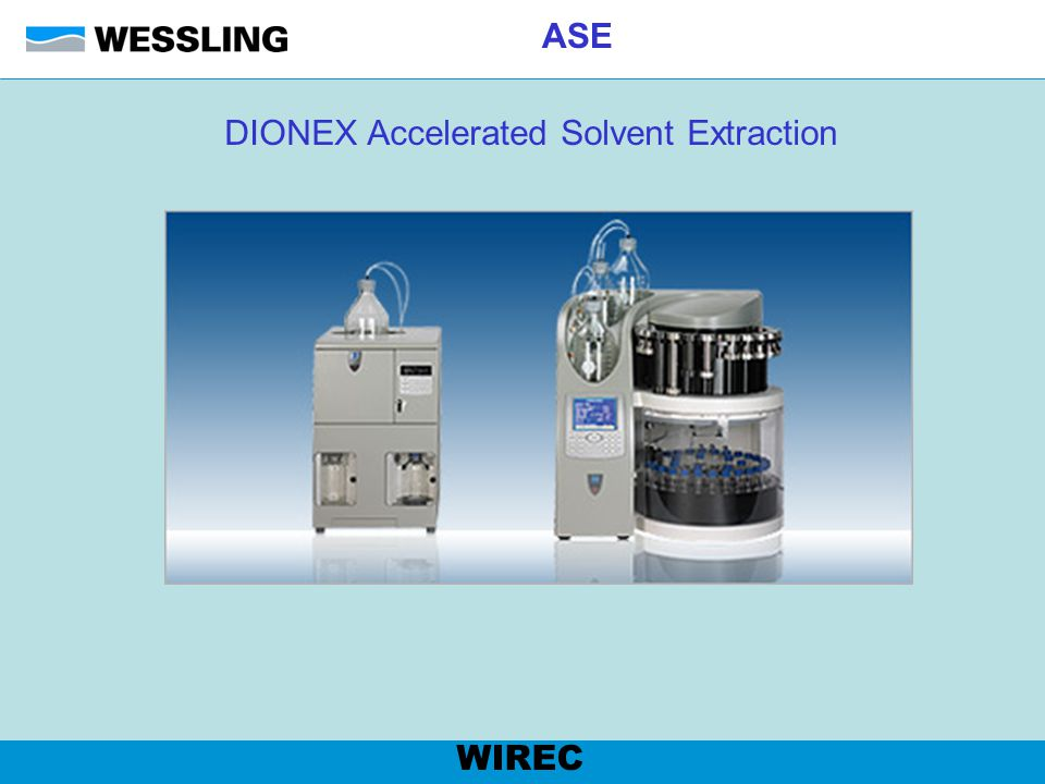 DIONEX Accelerated Solvent Extraction