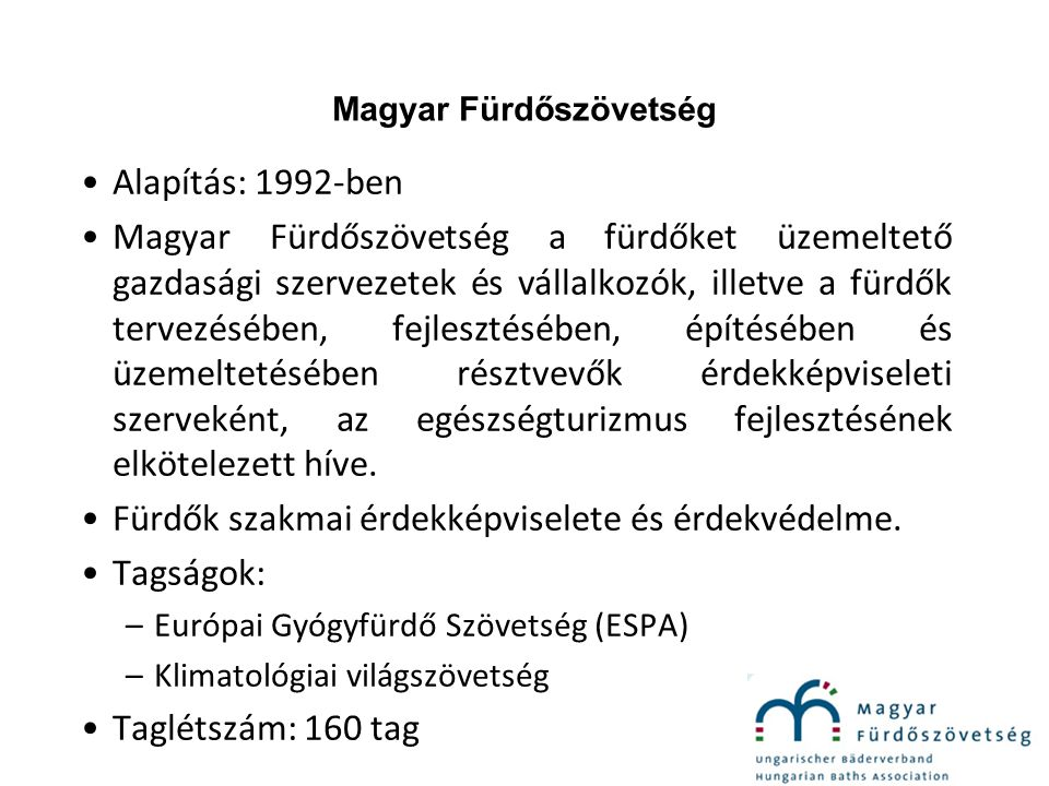 Magyar Fürdőszövetség