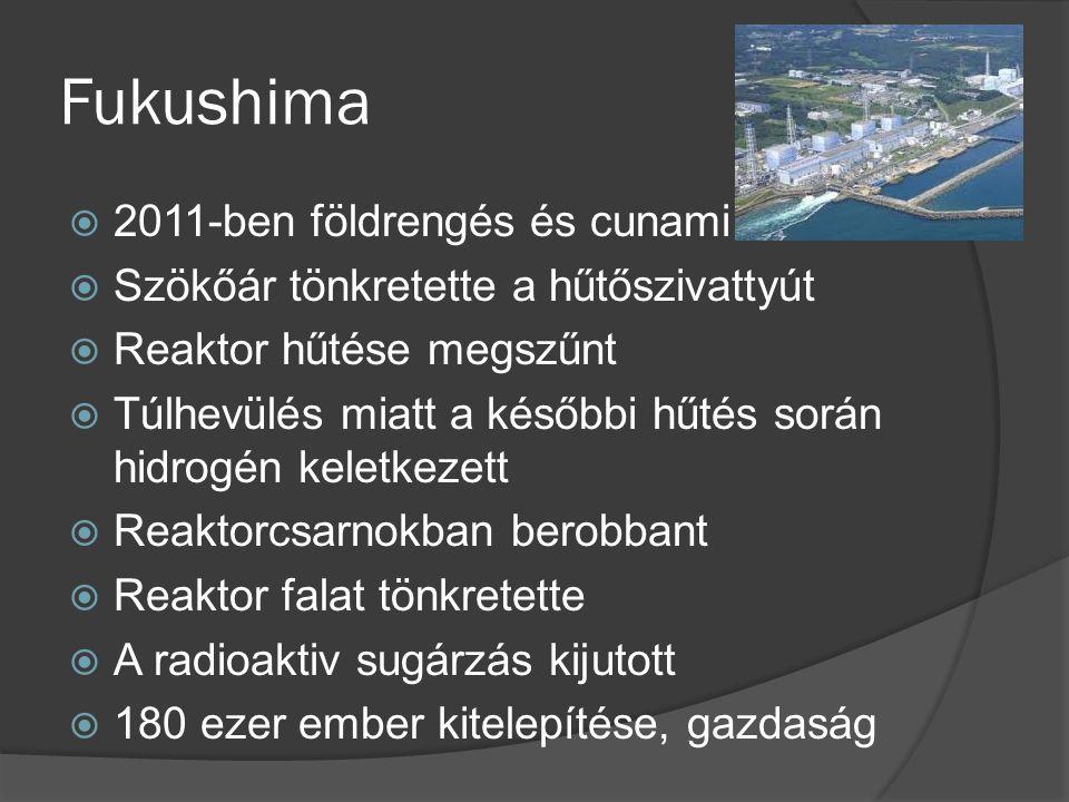 Fukushima 2011-ben földrengés és cunami