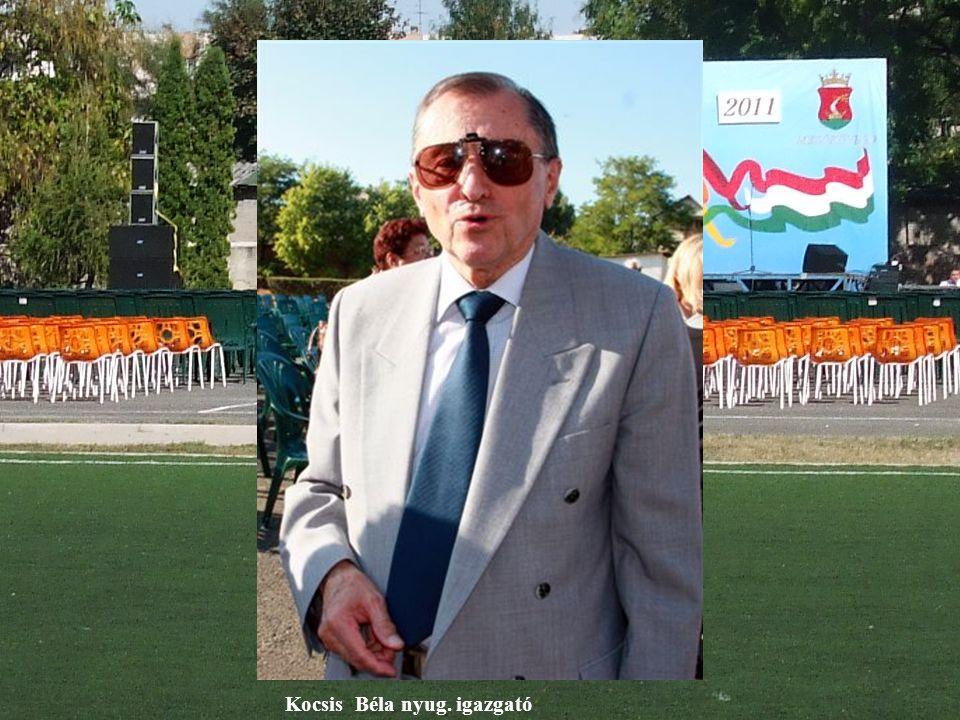 Kocsis Béla nyug. igazgató