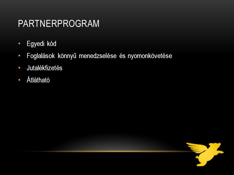 Partnerprogram Egyedi kód