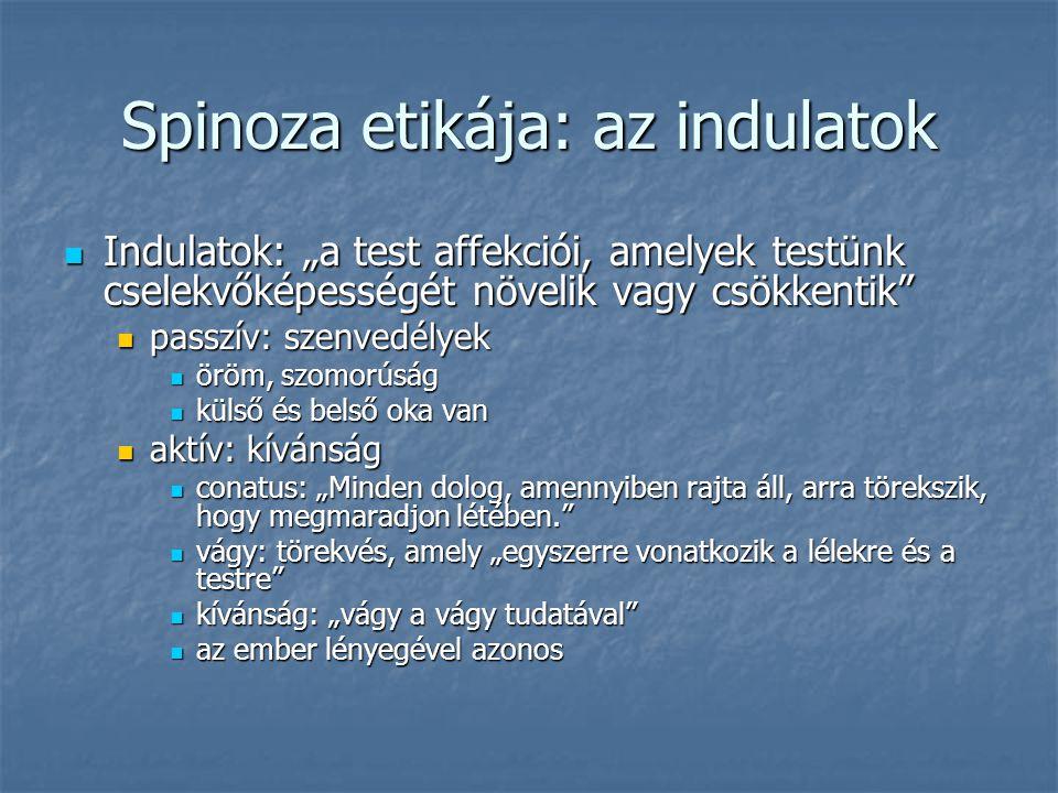 Spinoza etikája: az indulatok
