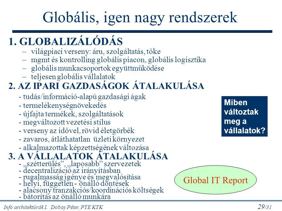 Globális, igen nagy rendszerek