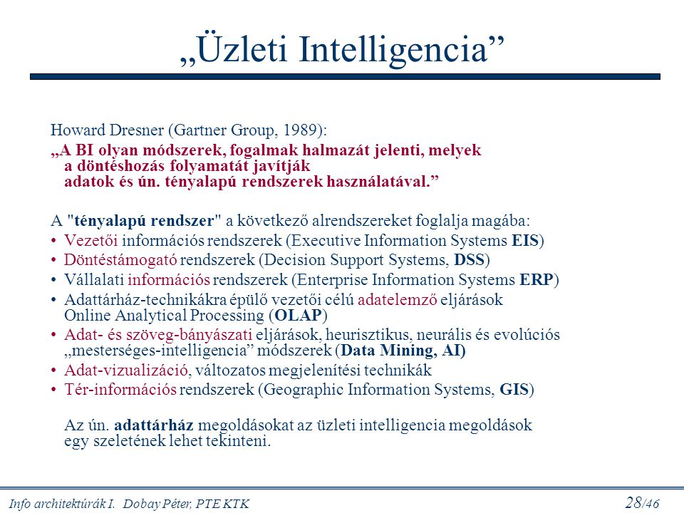 """Üzleti Intelligencia"