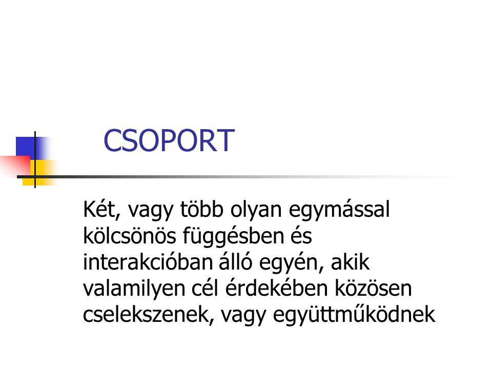CSOPORT