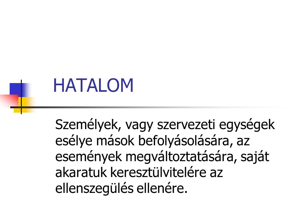 HATALOM