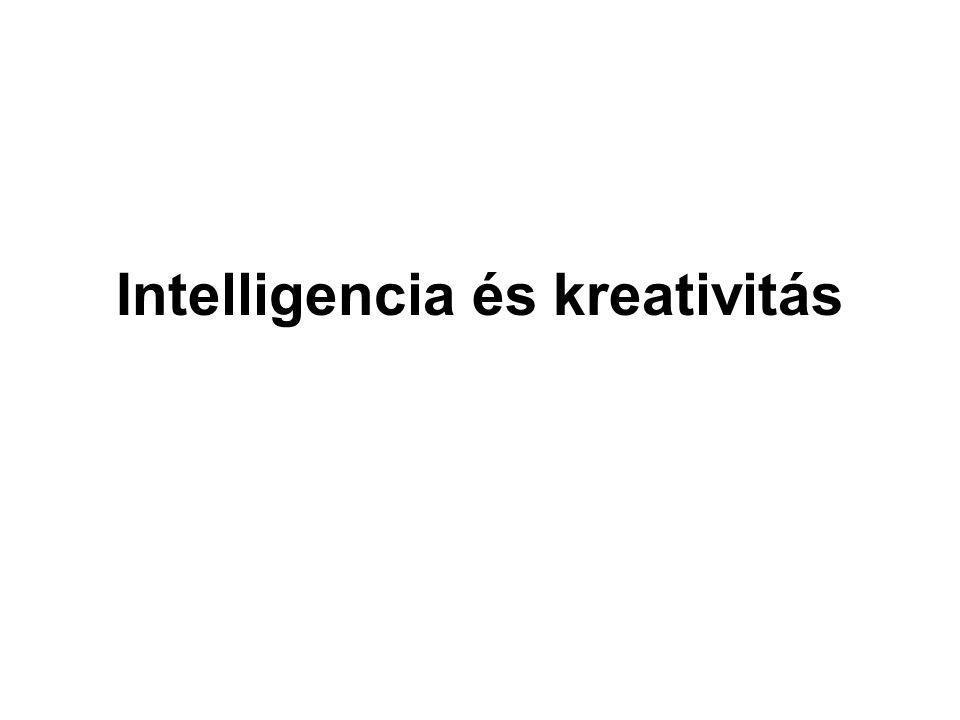 Intelligencia és kreativitás