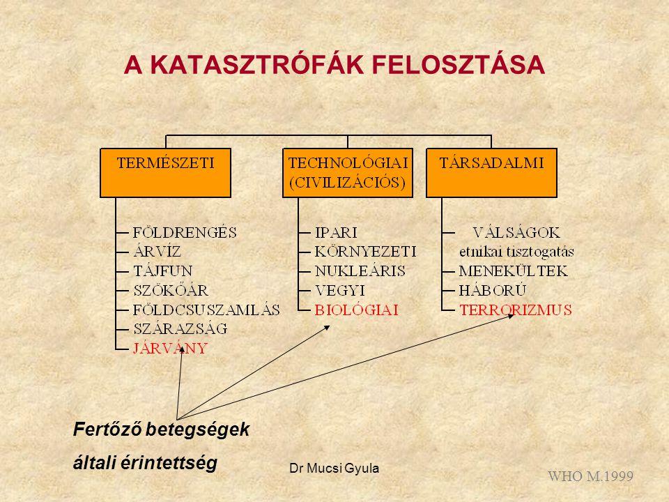 A KATASZTRÓFÁK FELOSZTÁSA
