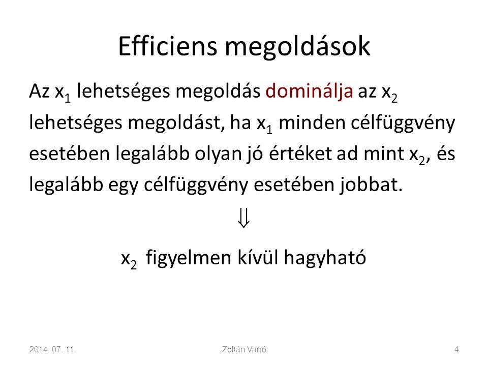 Efficiens megoldások