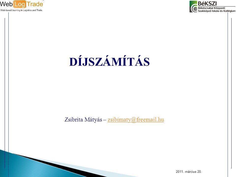 Zsibrita Mátyás – zsibimaty@freemail.hu