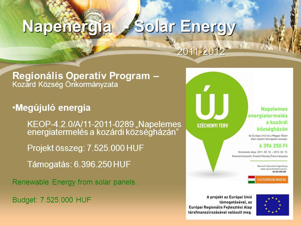 Napenergia - Solar Energy