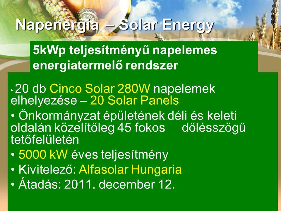 Napenergia – Solar Energy