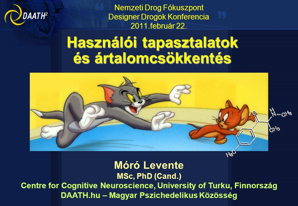 Nemzeti Drog Fókuszpont Designer Drogok Konferencia 2011.február 22.