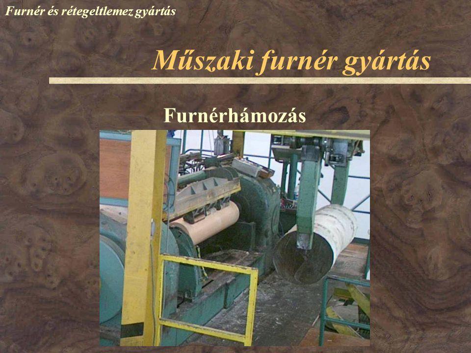 Műszaki furnér gyártás