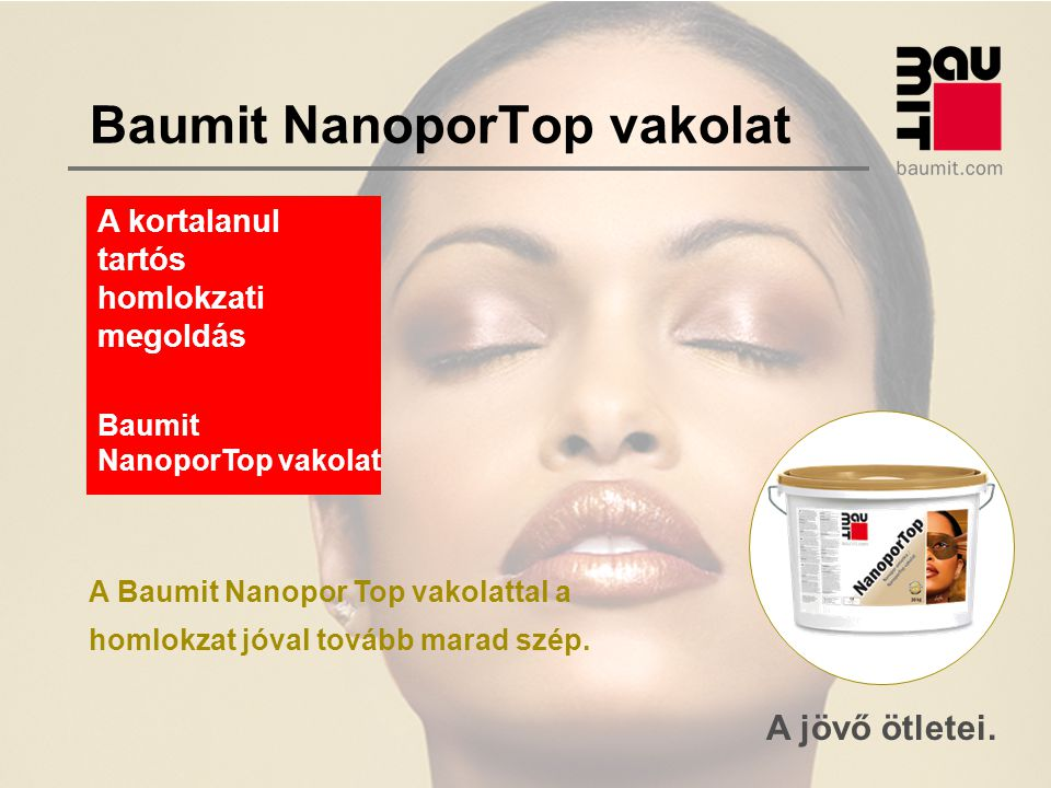 Baumit NanoporTop vakolat