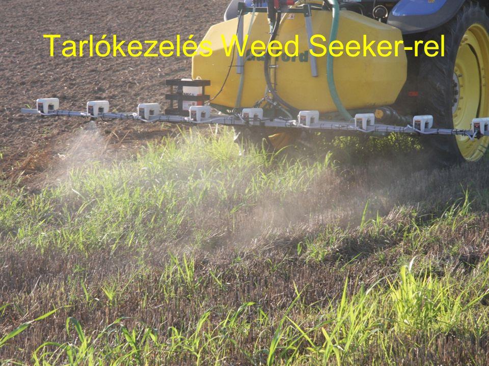 Tarlókezelés Weed Seeker-rel