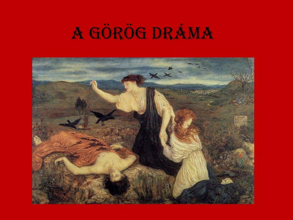 A görög drámA