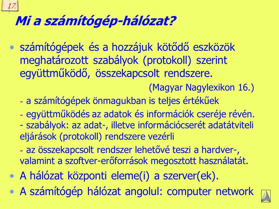 Mi a számítógép-hálózat