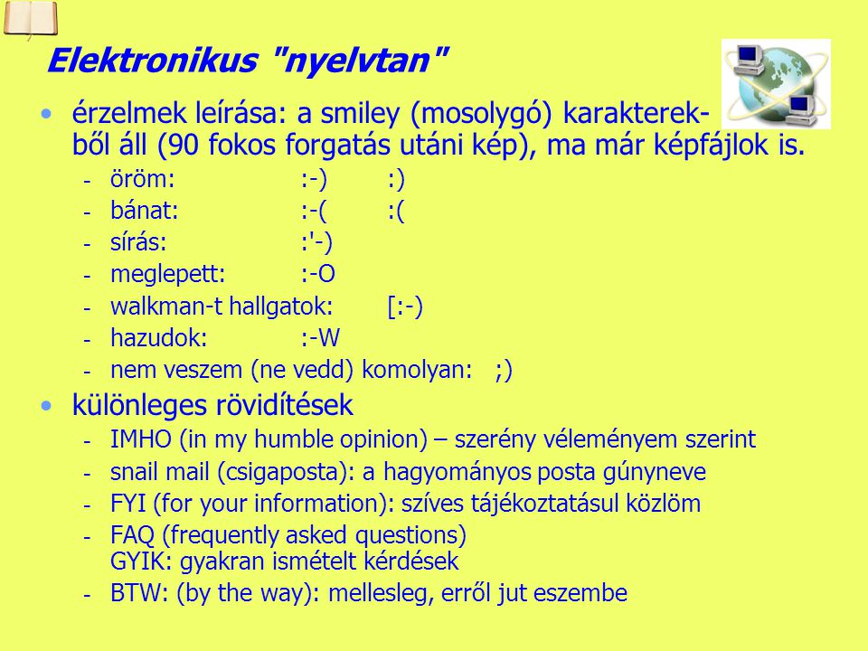 Elektronikus nyelvtan