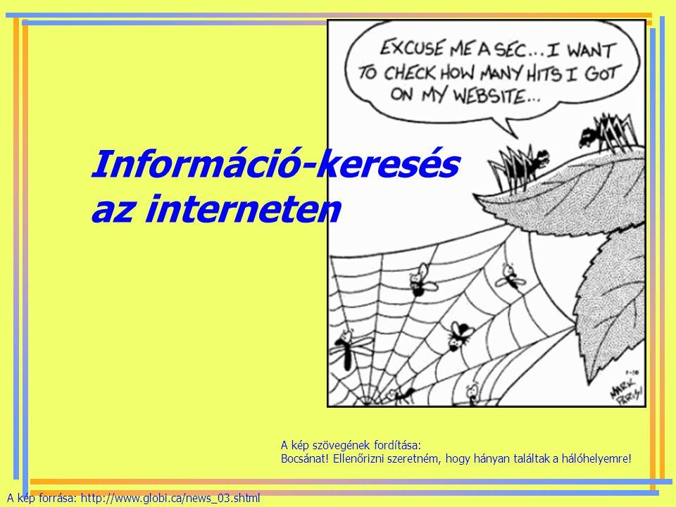 Információ-keresés az interneten