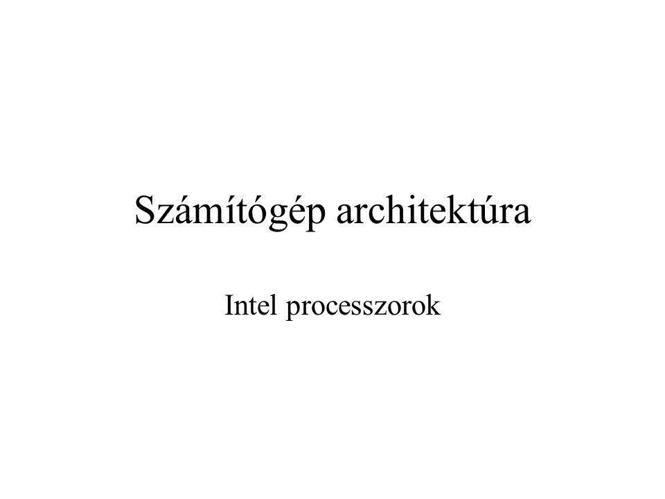 Számítógép architektúra