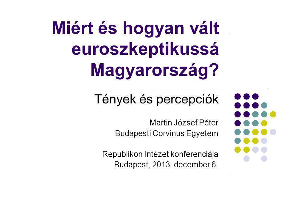 Miért és hogyan vált euroszkeptikussá Magyarország