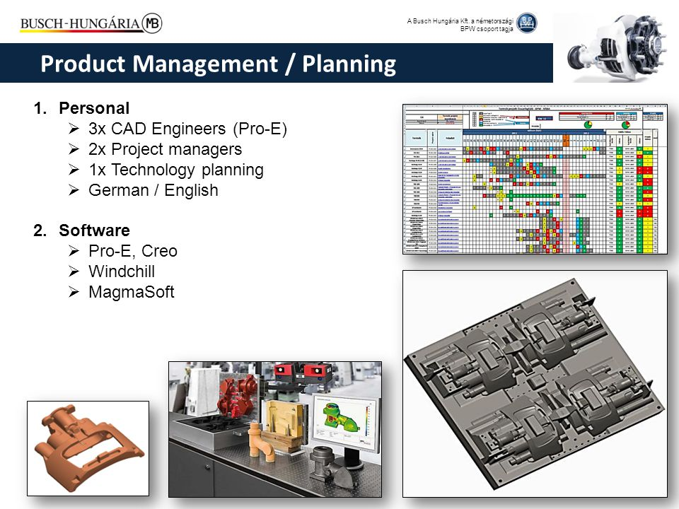 Product Management / Planning