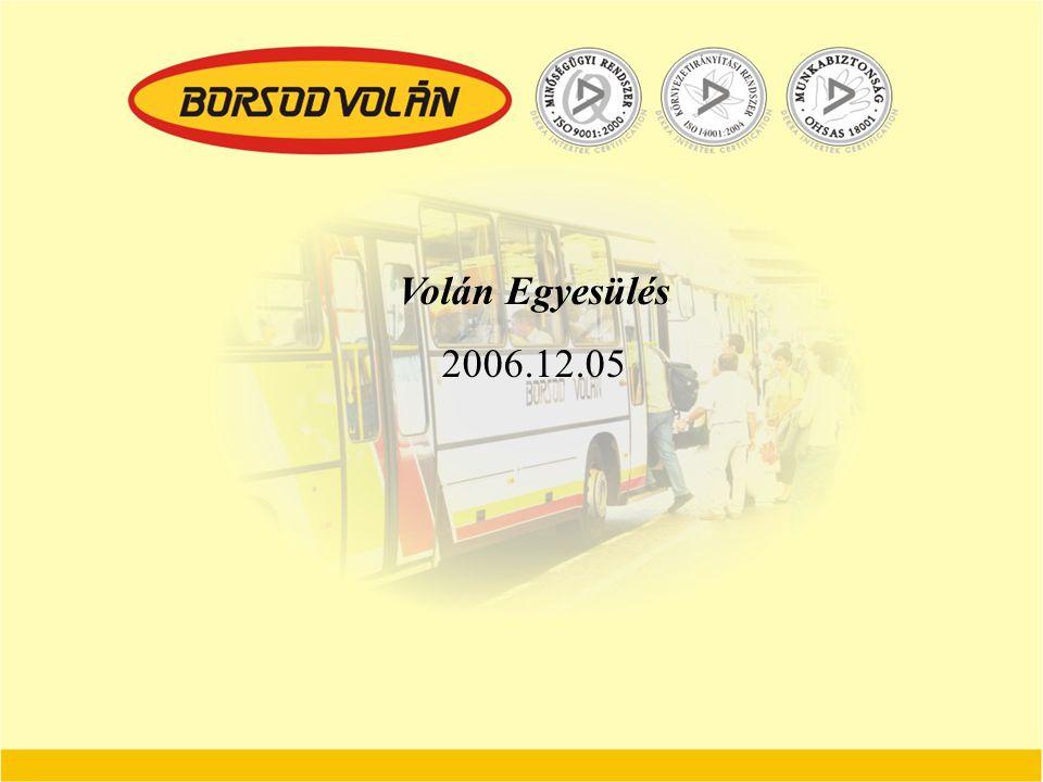 Volán Egyesülés 2006.12.05