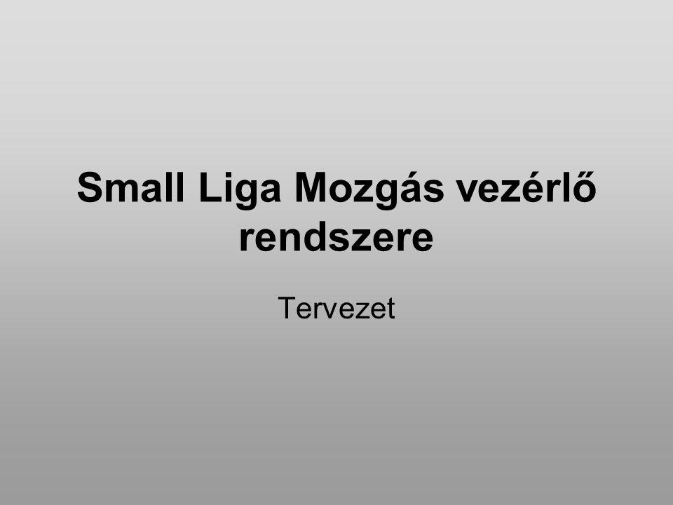 Small Liga Mozgás vezérlő rendszere