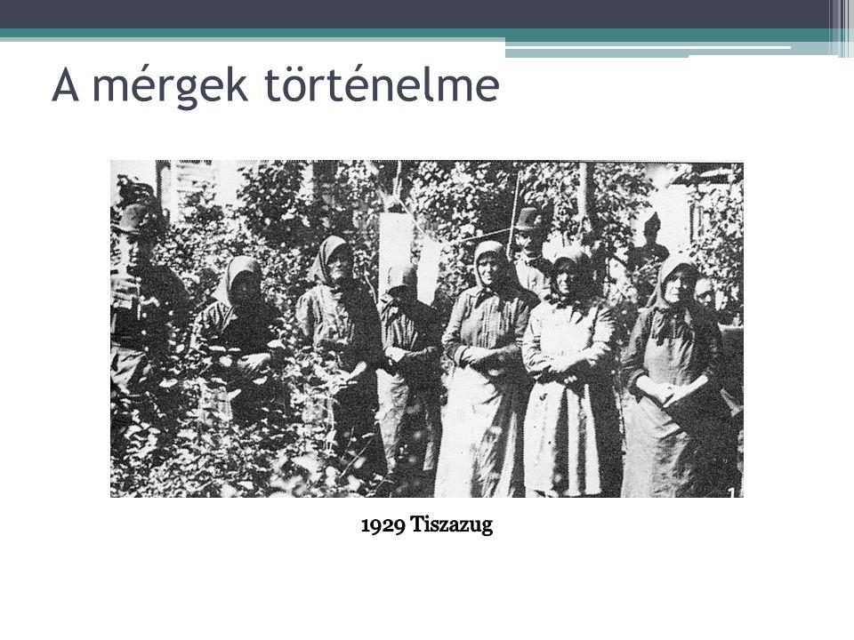 A mérgek történelme 1929 Tiszazug