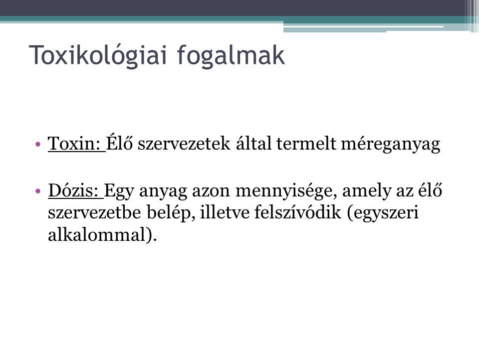 Toxikológiai fogalmak