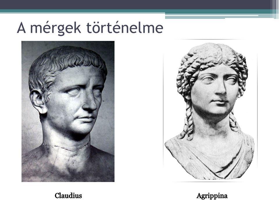 A mérgek történelme Agrippina Claudius
