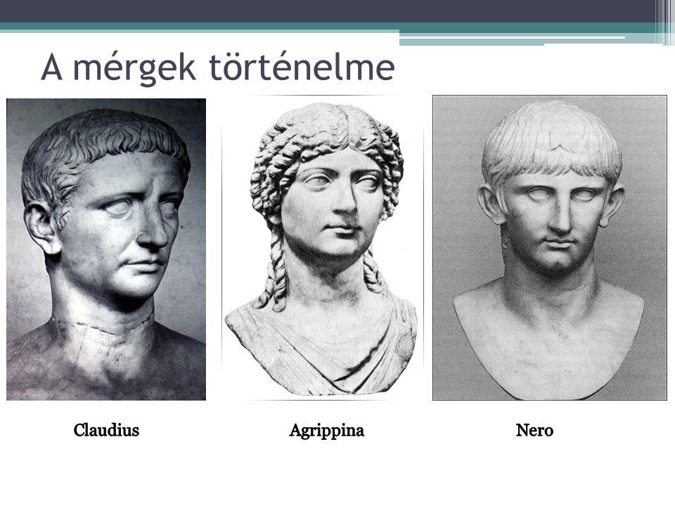A mérgek történelme Claudius Agrippina Nero